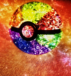 Rainbow Pokeball V2 by Marzarret