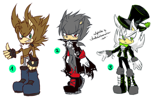 Sonic Adoptables #19 - CLOSED by shadowhatesomochao