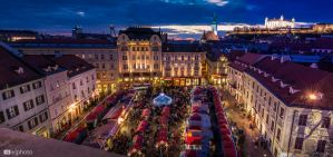 Christmas Markets in Bratislava by Zoroo