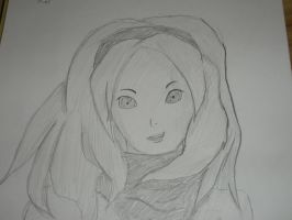 Kat from Gravity Rush art/drawing by SuperFIFIBros