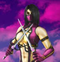 Mileena MK2 VS POSE by SrATiToO