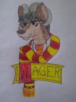Harry Potter Furry Badge by Wager218