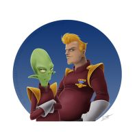 Doop Zapp and Kif by imperdible
