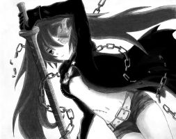 Black Rock Shooter 2 by Kami-Ato