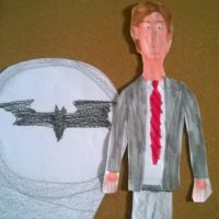 Aaron Eckhart as Harvey Dent by movieman410