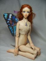 'Eleanor'  ooak bjd fairy 2 by AmandaKathryn