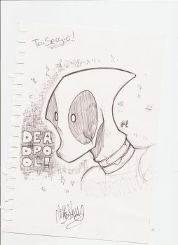 Zatransis Deadpool Commission by cell2k7