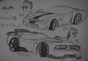 Pony cars and pony gals by Ricky47