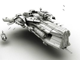 Battlecruiser 'Immense'  V2 by denizengt
