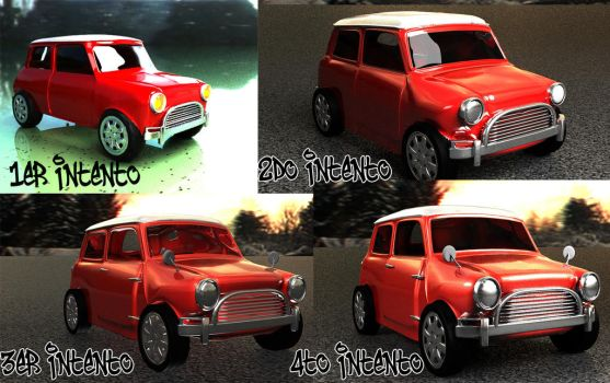 Mini Evolution by the-kender