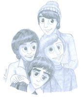 The Monkees by MoodyBeatleGirl