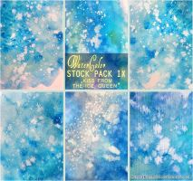 KISS FROM THE ICE QUEEN - WATERCOLOR STOCK PACK IX by AuroraWienhold