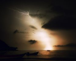 a storm is coming... by GalahadduLac