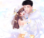 Wonderful Wedding + Speedpaint by RumbyFishy