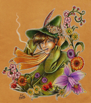 Snufkin's Spring by Lord-Aragoon