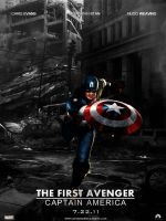The first avenger: C.A. by agustin09