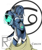 Zodiac Project: Cancer by Imerei