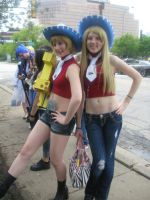 Liz and Patty Thompson- ACen 2011 by JessicaOfTheWall