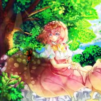 Sunlight + Speedpaint(new feauturing idea) by Maruuki