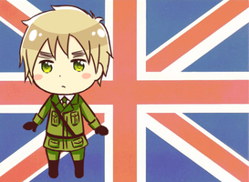 APH - Chibi England by TheTwinGardeners