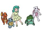 Kanto Starters Clones With Amber And Metwo by Demons4Life2015