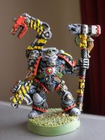 Space wolf Iron Priest by theoggster