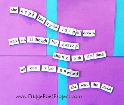 The Daily Magnet #353 by FridgePoetProject