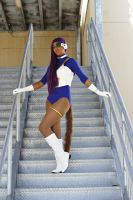 Animate Miami 2014: Dragonball Z Cosplay (Haruka) by MakeupSiren