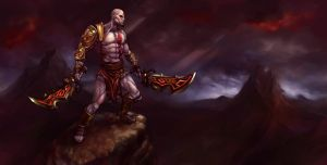 Kratos from GOD OF WAR 3 by HXH17
