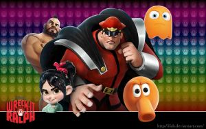 Wreck It Ralph - SFII - Wallpaper by iFab