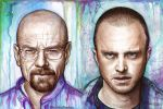 Walter White - Jesse Pinkman - Breaking Bad by Olechka01
