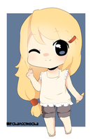 Chibi Prize for Riabi by MechanicMocha