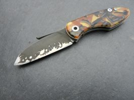 Linerlock with Celluloid by dreieinhalb