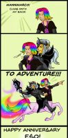 To Adventure! by SlayerSyrena