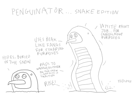 Penguinator Snake Edition by Yeow95