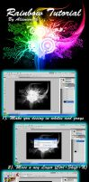 Rainbow Tutorial in Photoshop by Alienwarek