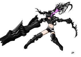 Insane Black Rock Shooter by Wallcoton