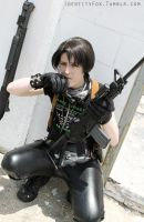 Urban Assassin Levi AU by Fennec777