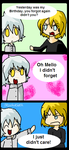 HappyBirthdayMello from... by AquaKacheek