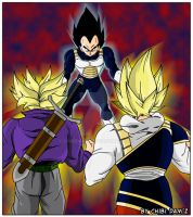 the nightmare of vegeta by ChibiDamZ