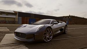 2010 Jaguar C-X75 by melkorius