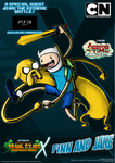 Nicktoons - Finn and Jake (PS3 Exclusive!) by NewEraOutlaw