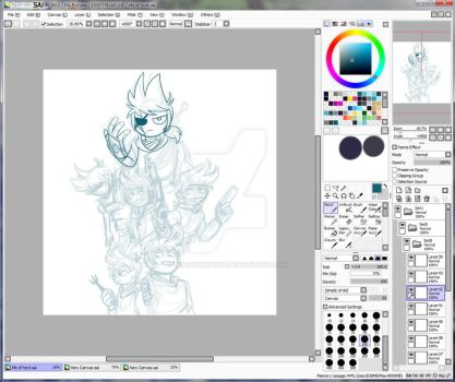 WIP Tord over the ages by Shadowwind36