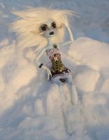 Custom Monster High Wampa by mermaid-splash