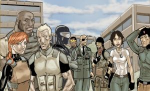 GI Joe Renegades Color by lroyburch