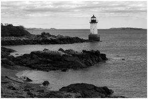 Salem Lighthouse by Delacorr