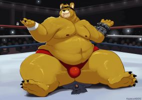 Heavy Golden Bear by Kazecat