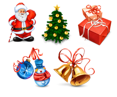 Christmas Icons by FreeIconsFinder