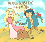 HEAVEN BURSTING TIME shing by millionfish