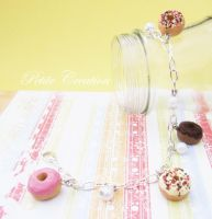 donut bracelet by PetiteCreation